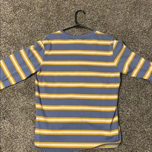 HUF Shirts - Long Sleeve Shirt from HUF blue, yellow, white